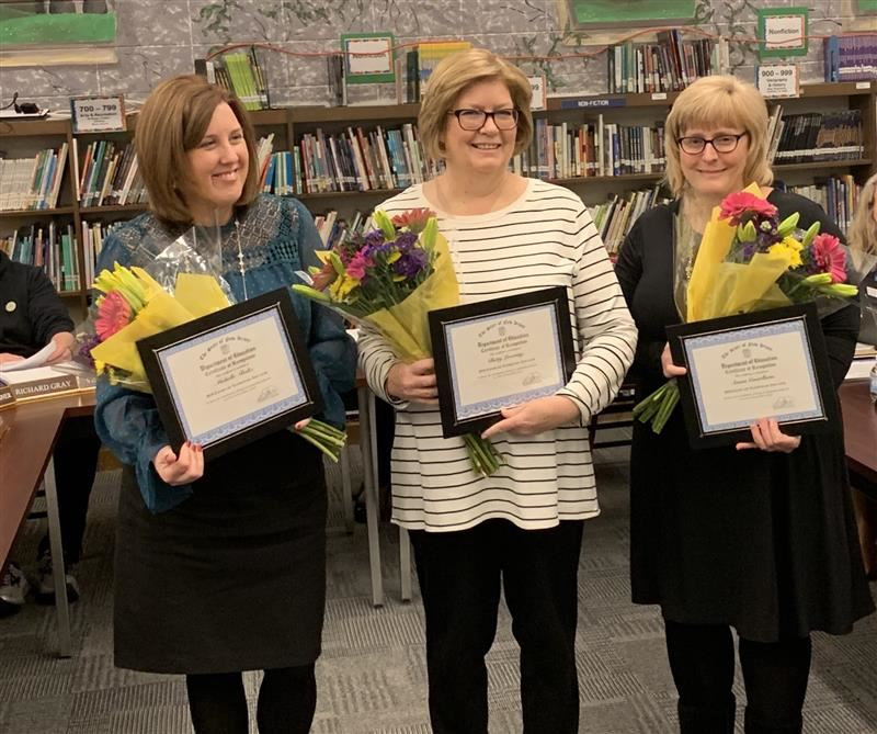 Congratulations to our Honored Exemplary Elementary Educators of the Year