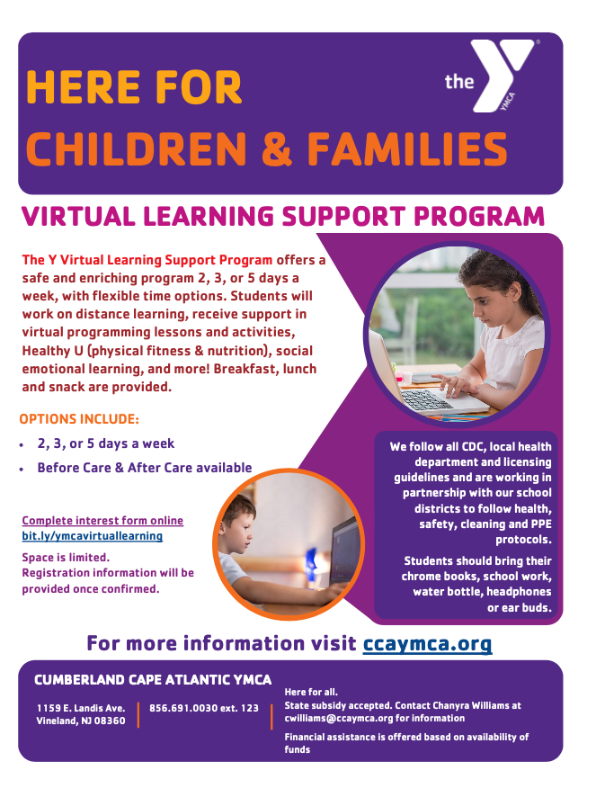 YMCA CHILD CARE INFORMATION