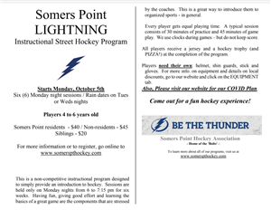Somers Point Lightning Street Hockey